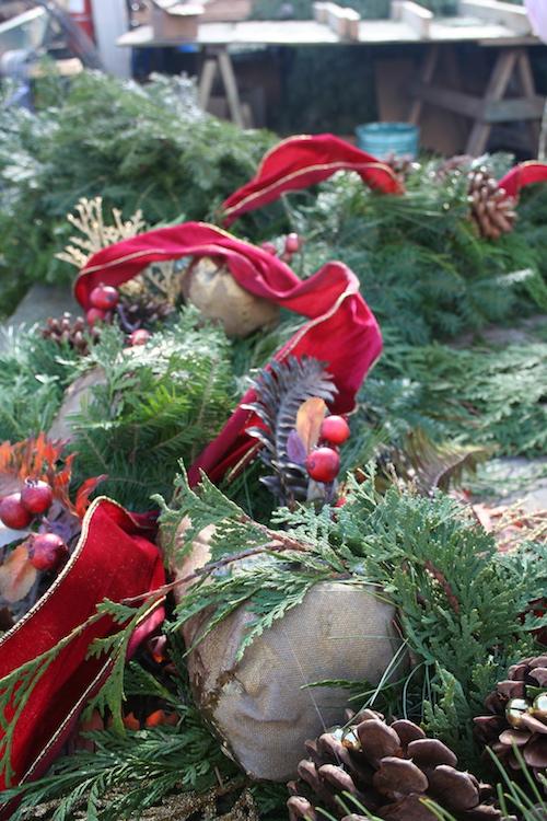 wreath details