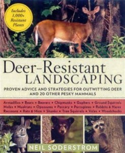 cover of deer resistant landscaping