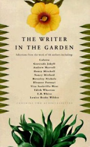 cover of a garden writing book