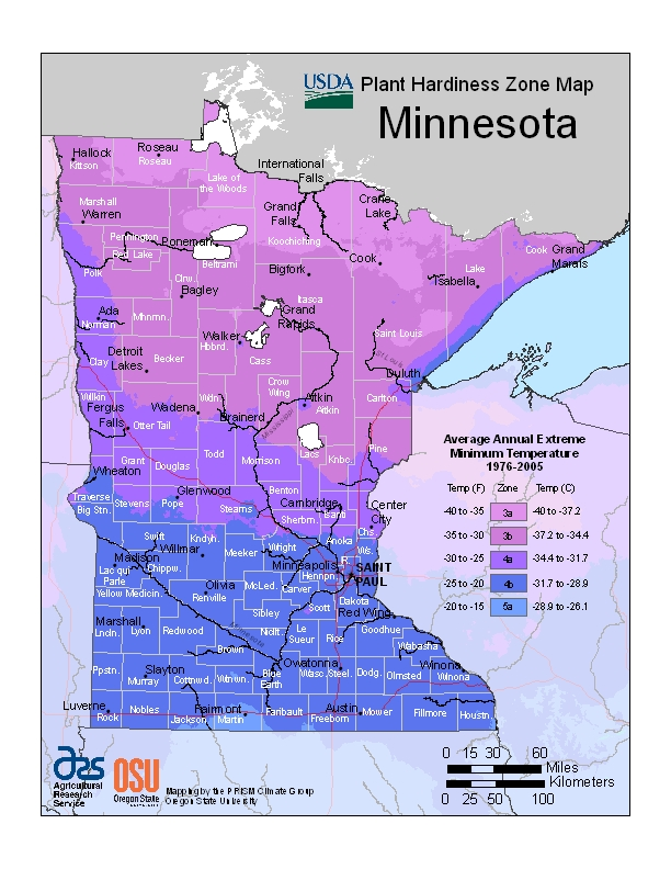 Big Changes For Minnesota In New Hardiness Zone Map My Northern - Us map climate zones