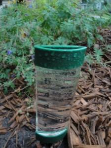 full rain gauge