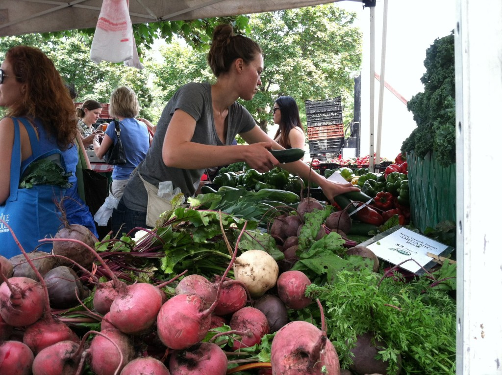 Logan Square market