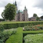 The gardens were originally built to enhance the castle.