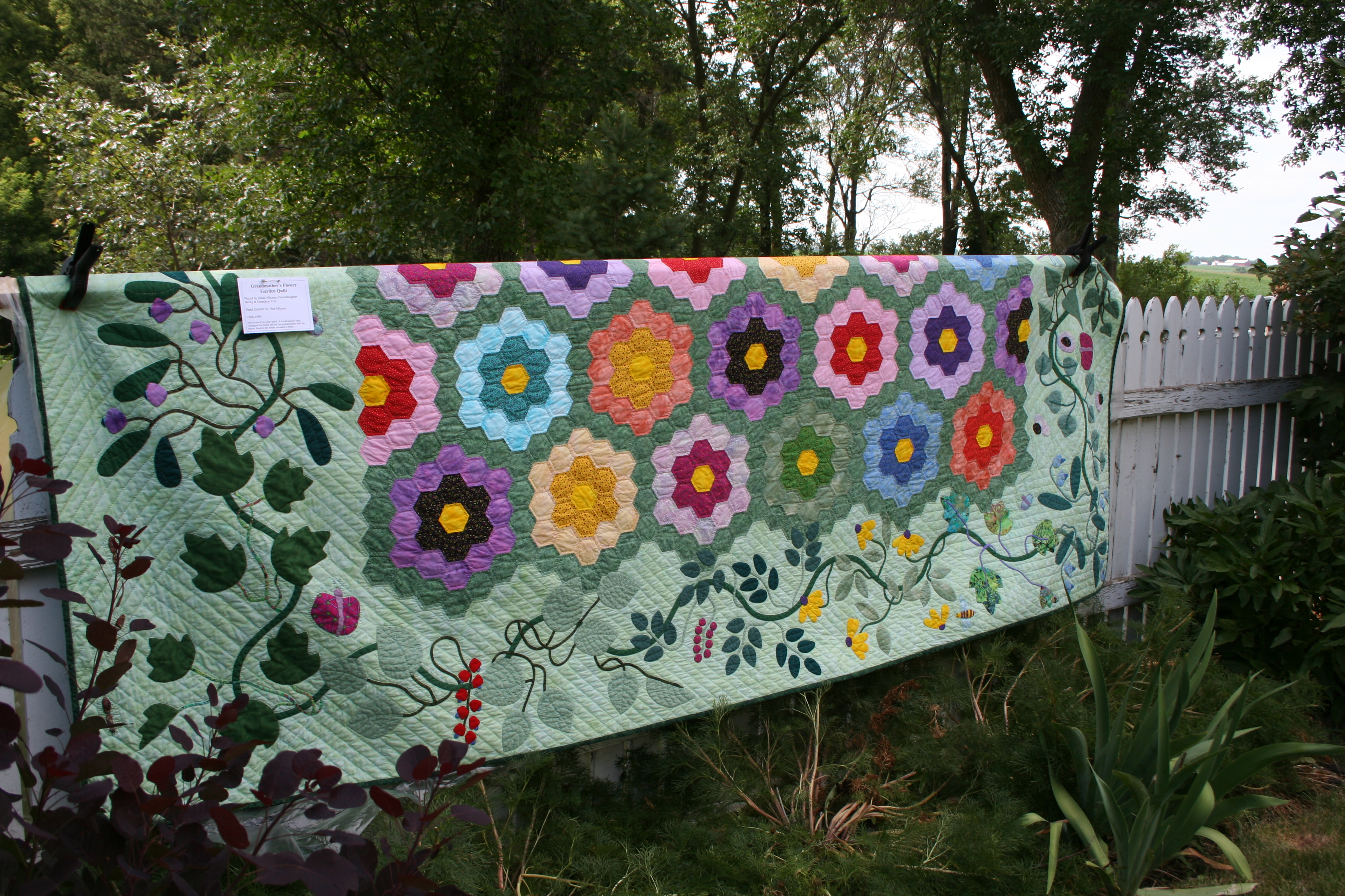 Quilts And Gardens Go Together My Northern Garden