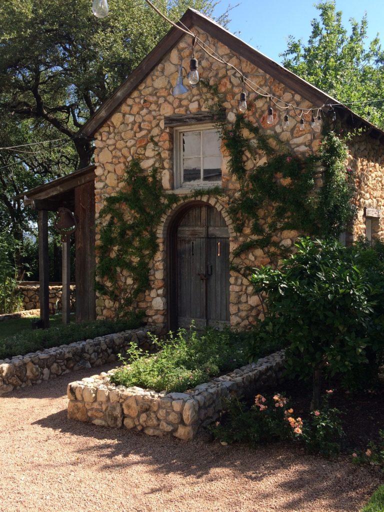 stone garden house