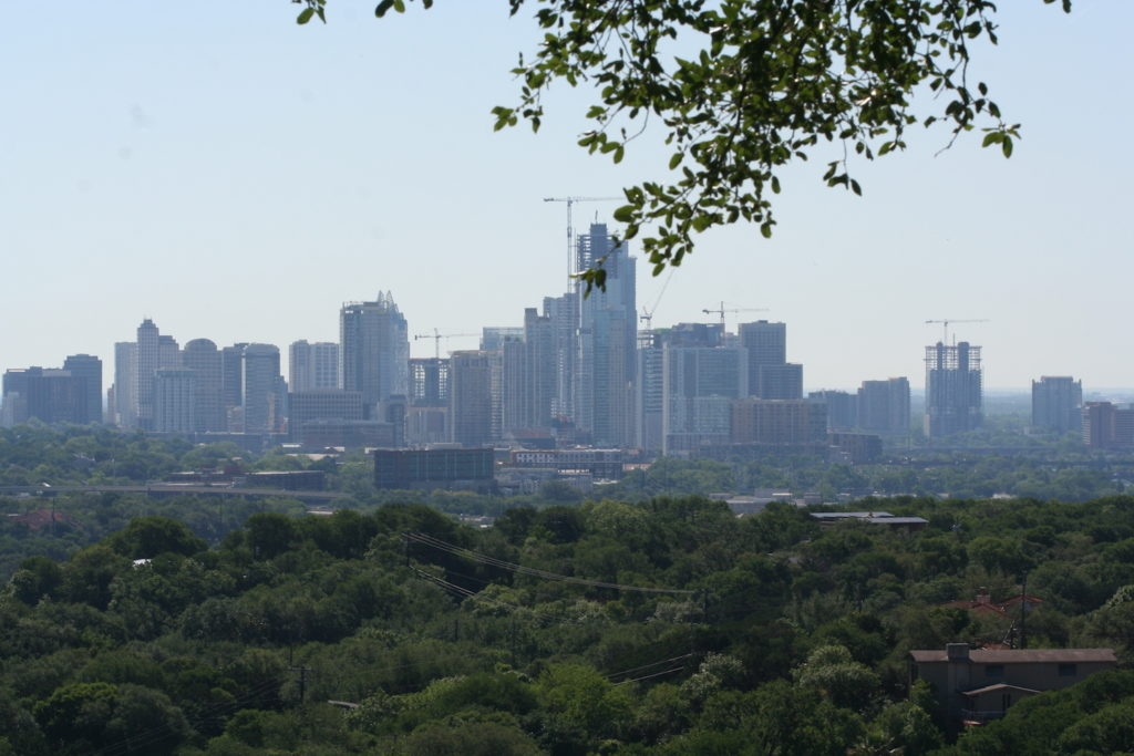 view of downtown austin texas