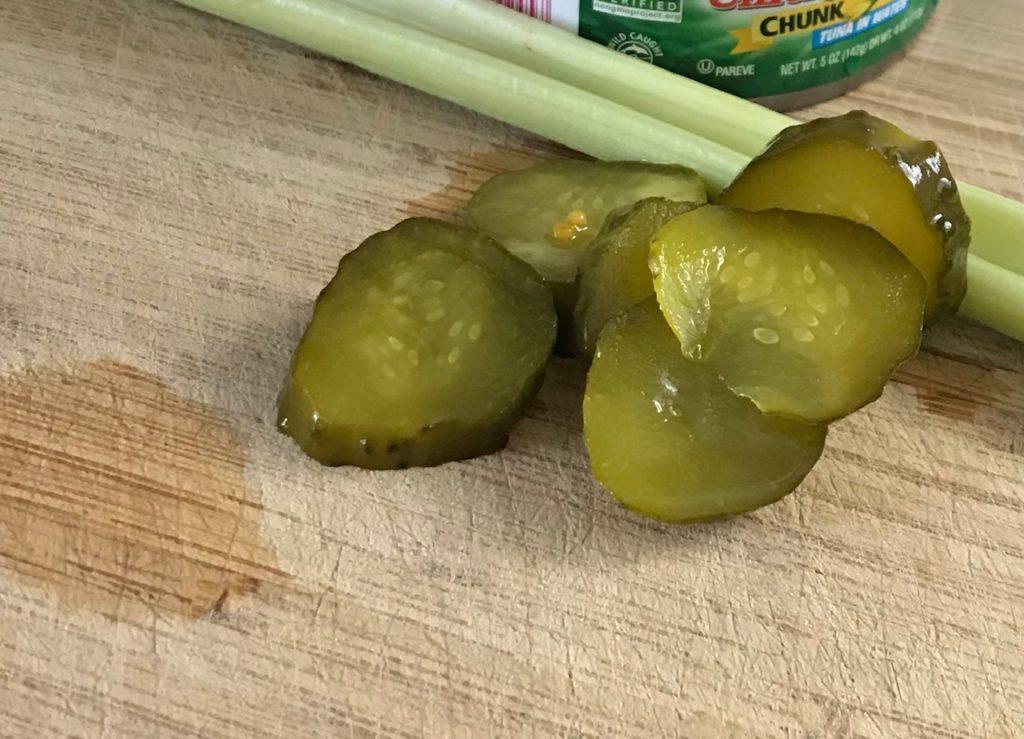 Pickles after fermentation
